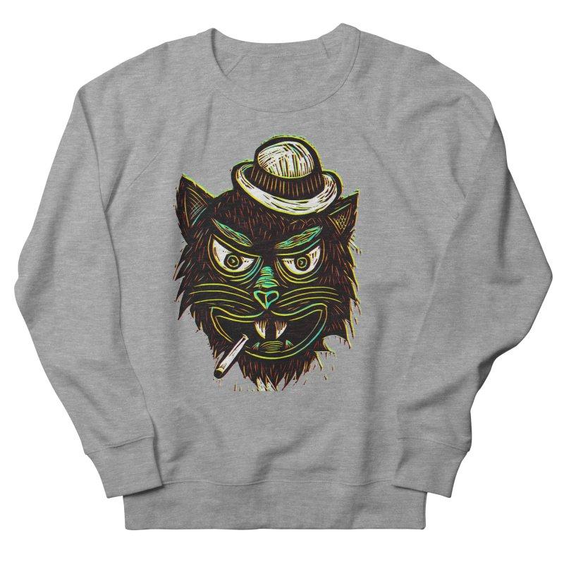 Tough Cat Men's Sweatshirt by Sean StarWars' Artist Shop