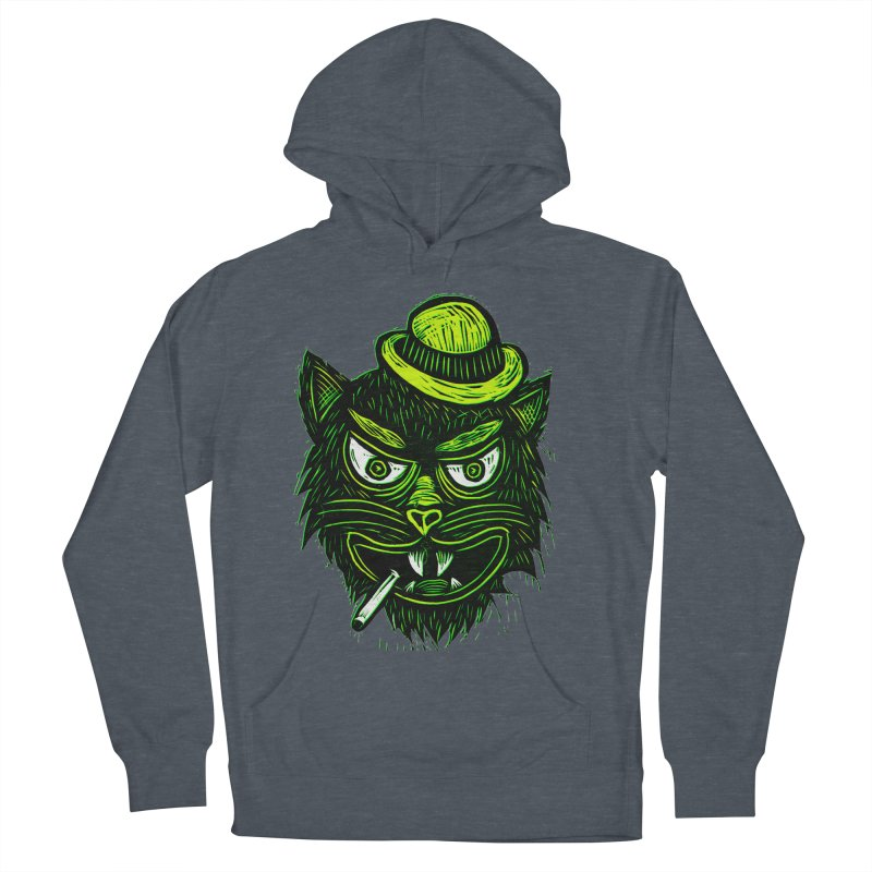 Tough Cat Men's French Terry Pullover Hoody by Sean StarWars' Artist Shop