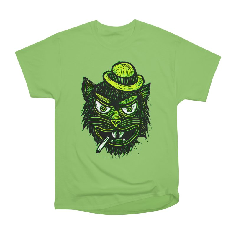 Tough Cat Men's Heavyweight T-Shirt by Sean StarWars' Artist Shop