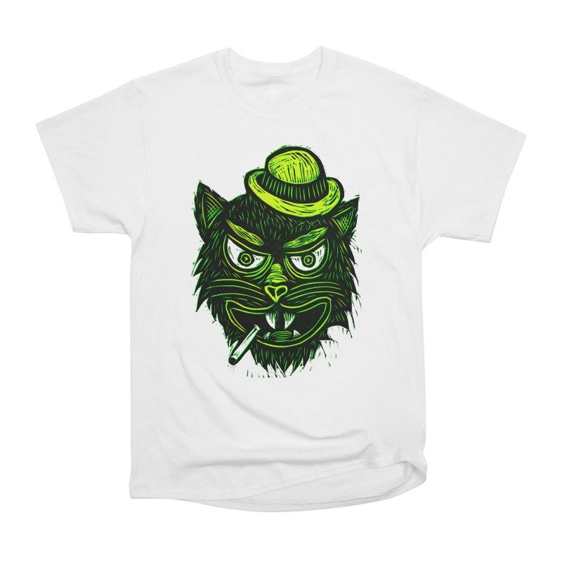 Tough Cat Women's Heavyweight Unisex T-Shirt by Sean StarWars' Artist Shop