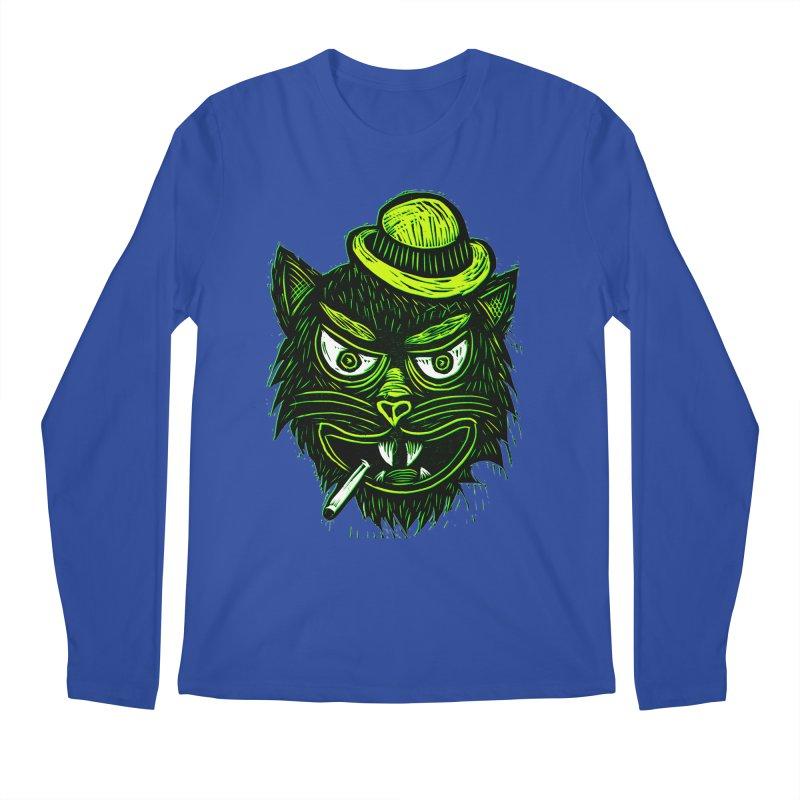 Tough Cat Men's Regular Longsleeve T-Shirt by Sean StarWars' Artist Shop
