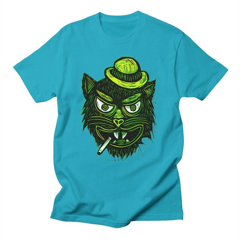 Tough Cat Women's Unisex T-Shirt by Sean StarWars' Artist Shop