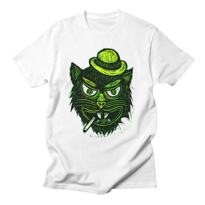 Tough Cat Women's Regular Unisex T-Shirt by Sean StarWars' Artist Shop
