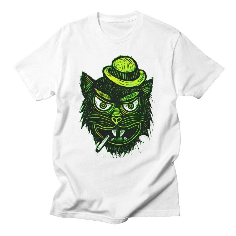 Tough Cat Men's Regular T-Shirt by Sean StarWars' Artist Shop