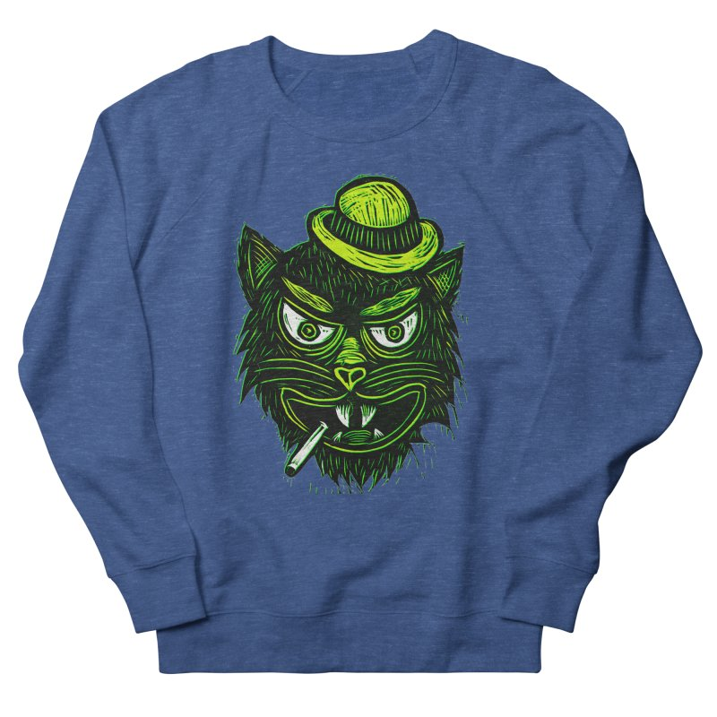 Tough Cat Men's Sweatshirt by Sean StarWars' Artist Shop