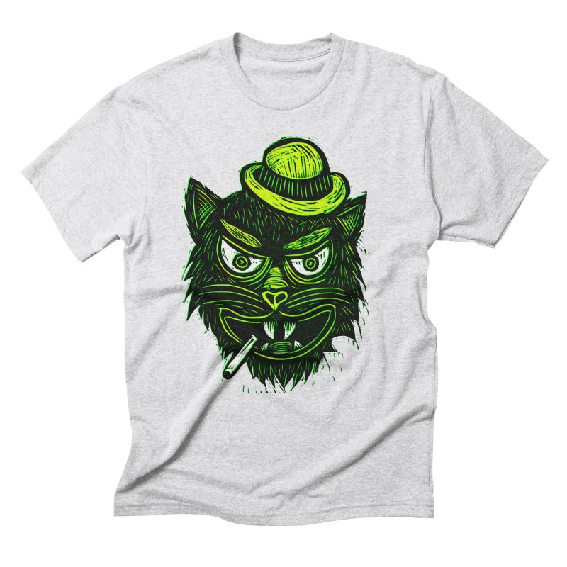Tough Cat Men's Triblend T-Shirt by Sean StarWars' Artist Shop