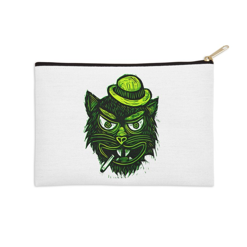Tough Cat Accessories Zip Pouch by Sean StarWars' Artist Shop