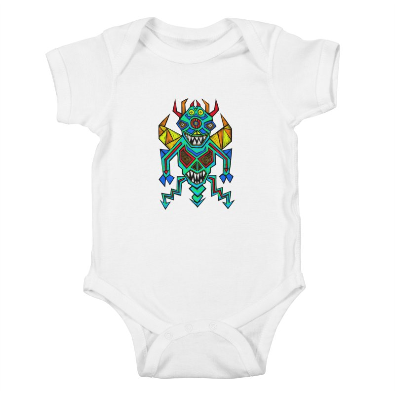 Decimator Kids Baby Bodysuit by Sean StarWars' Artist Shop