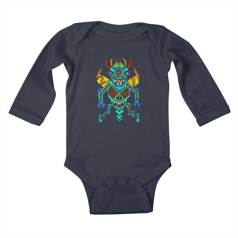 Decimator Kids Baby Longsleeve Bodysuit by Sean StarWars' Artist Shop