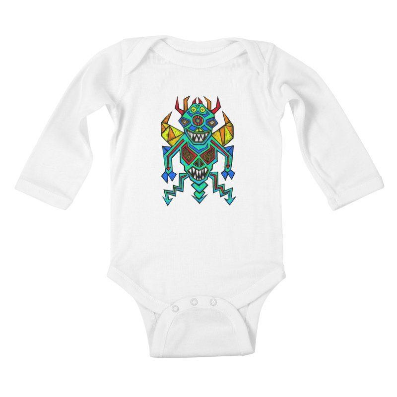 Decimator Kids Baby Longsleeve Bodysuit by Sean StarWars' Artist Shop
