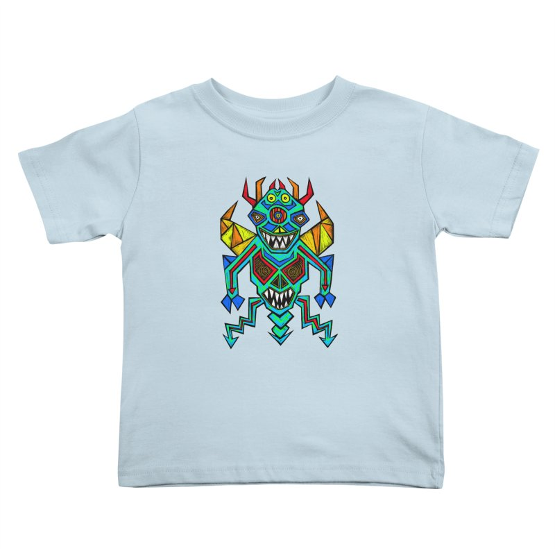 Decimator Kids Toddler T-Shirt by Sean StarWars' Artist Shop