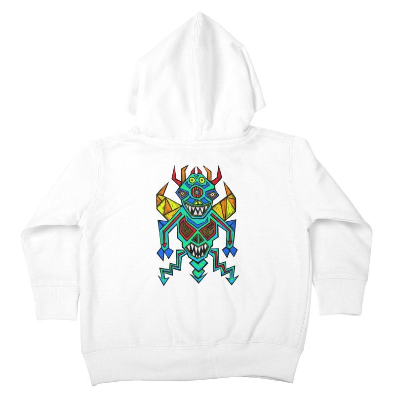 Decimator Kids Toddler Zip-Up Hoody by Sean StarWars' Artist Shop