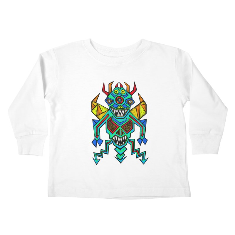 Decimator Kids Toddler Longsleeve T-Shirt by Sean StarWars' Artist Shop