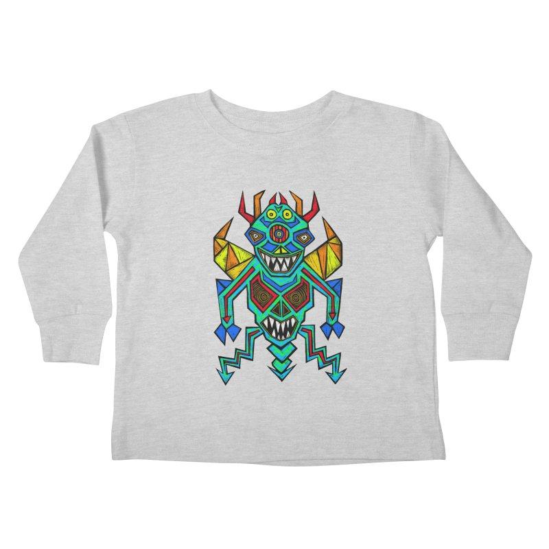 Decimator Kids Toddler Longsleeve T-Shirt by Sean StarWars' Artist Shop