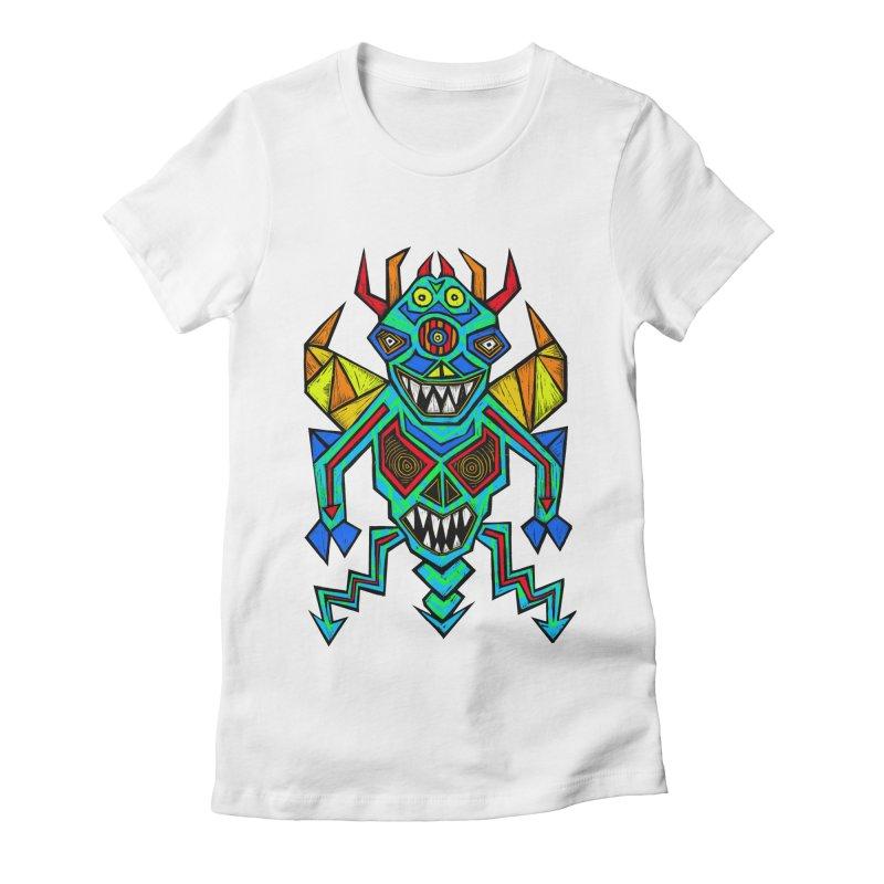 Decimator Women's Fitted T-Shirt by Sean StarWars' Artist Shop