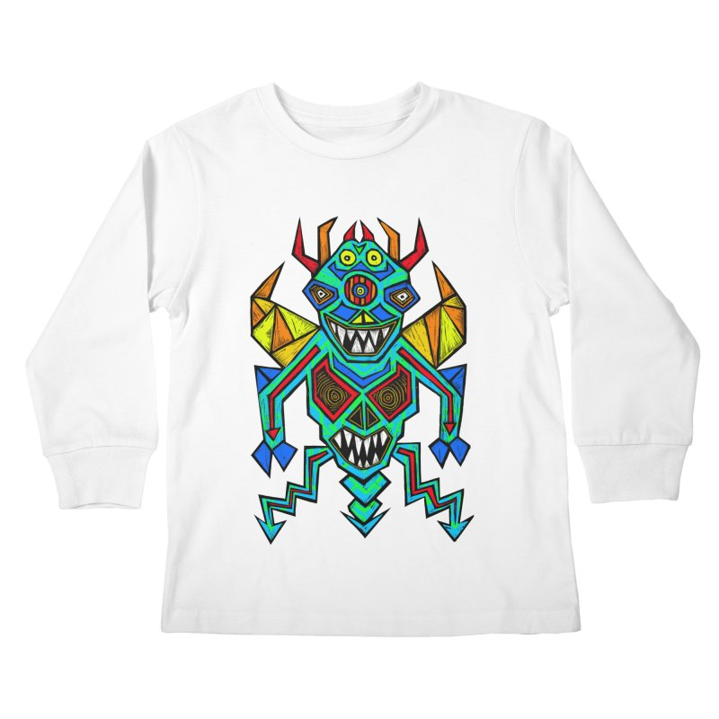 Decimator Kids Longsleeve T-Shirt by Sean StarWars' Artist Shop