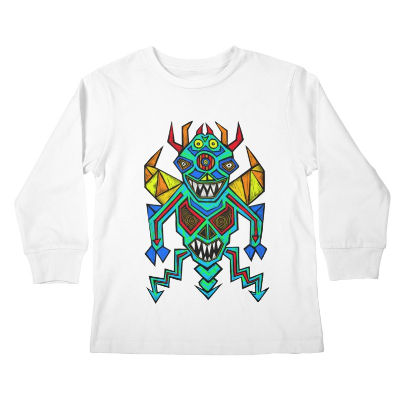 Decimator Kids Longsleeve T-Shirt by Sean StarWars' Artist Shop