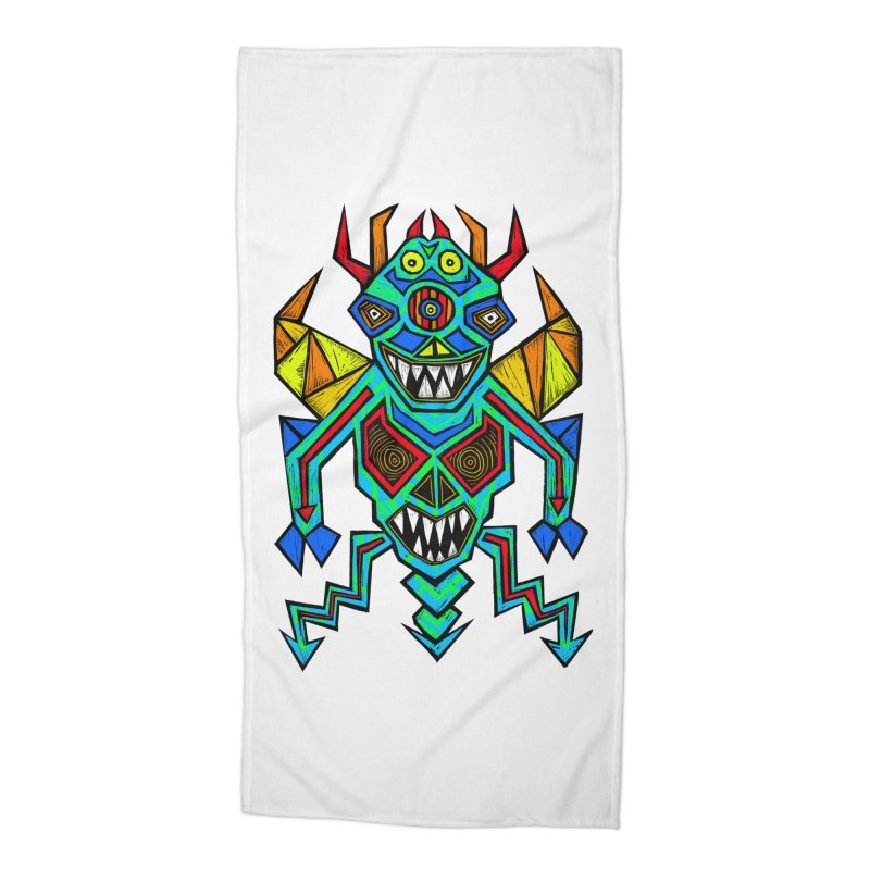 Decimator Accessories Beach Towel by Sean StarWars' Artist Shop