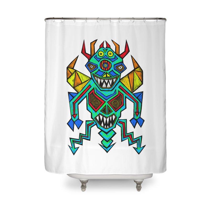 Decimator Home Shower Curtain by Sean StarWars' Artist Shop