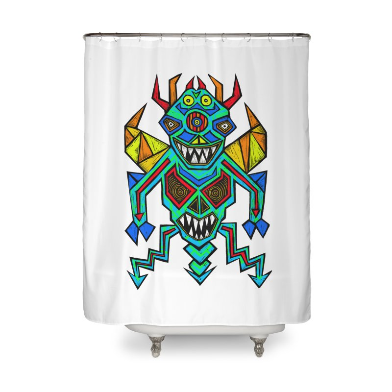 Decimator Home Shower Curtain by Sean StarWars' Artist Shop