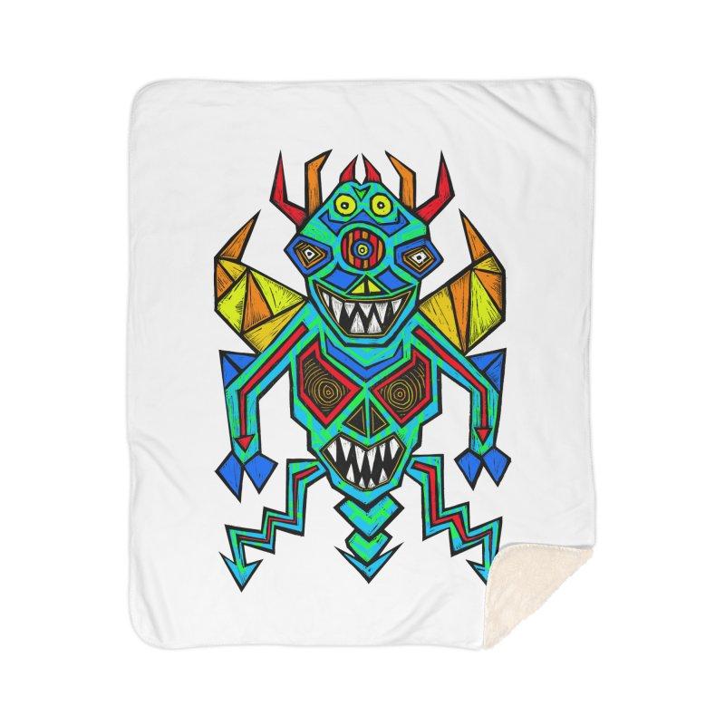 Decimator Home Sherpa Blanket Blanket by Sean StarWars' Artist Shop