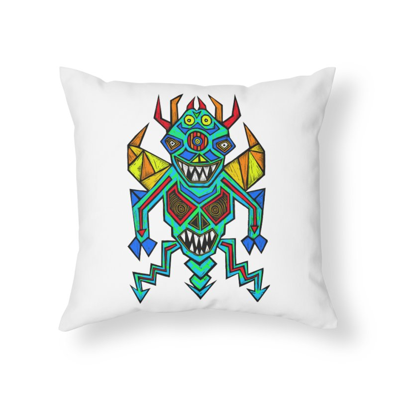Decimator Home Throw Pillow by Sean StarWars' Artist Shop
