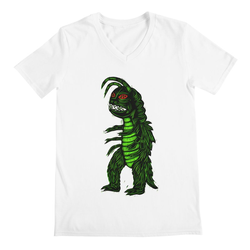 Gumos Men's Regular V-Neck by Sean StarWars' Artist Shop