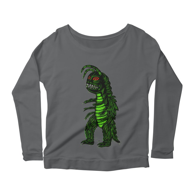 Gumos Women's Scoop Neck Longsleeve T-Shirt by Sean StarWars' Artist Shop