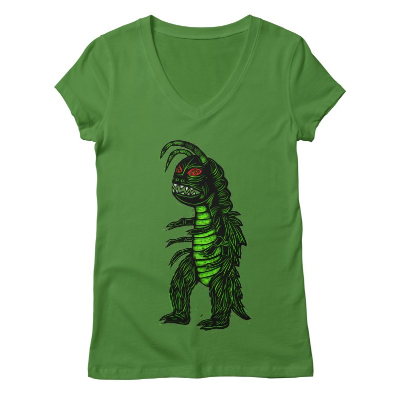Gumos Women's V-Neck by Sean StarWars' Artist Shop