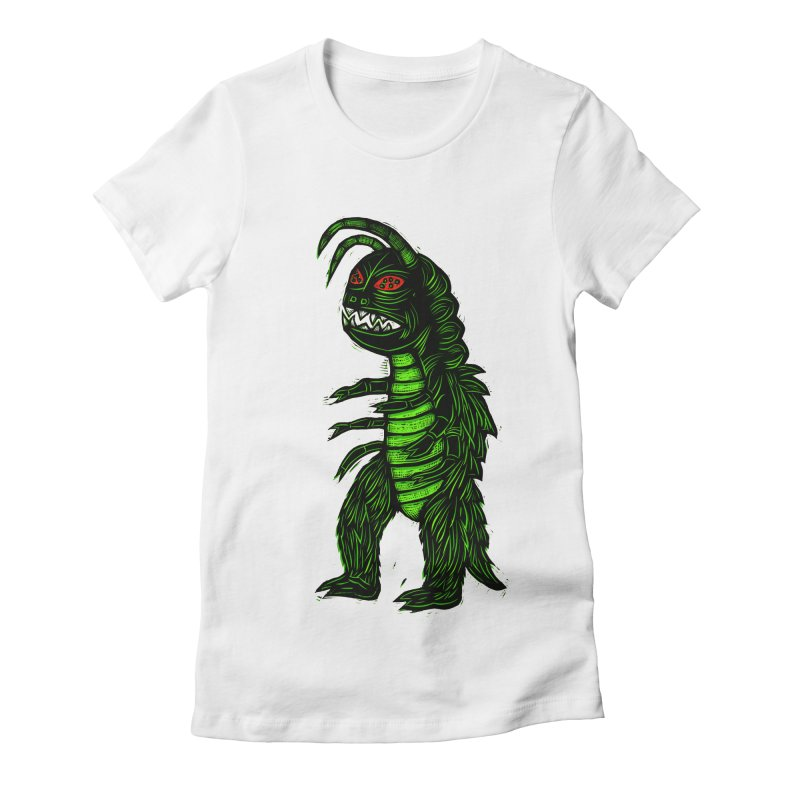 Gumos Women's Fitted T-Shirt by Sean StarWars' Artist Shop