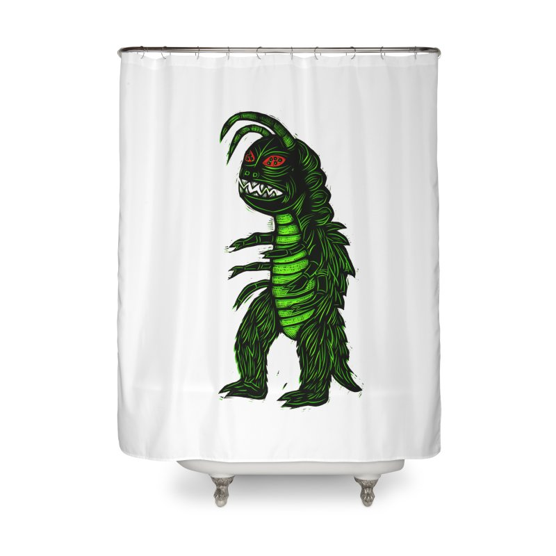Gumos Home Shower Curtain by Sean StarWars' Artist Shop