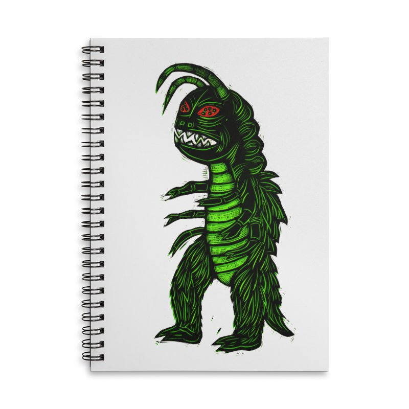 Gumos Accessories Lined Spiral Notebook by Sean StarWars' Artist Shop