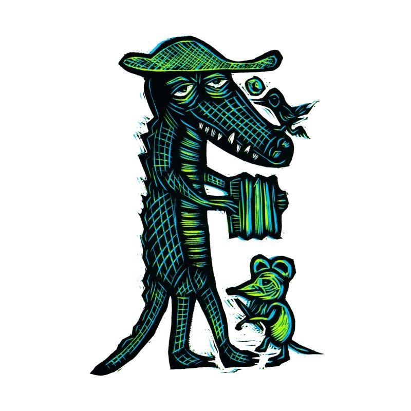 Cajun Gator Men's T-shirt by Sean StarWars' Artist Shop