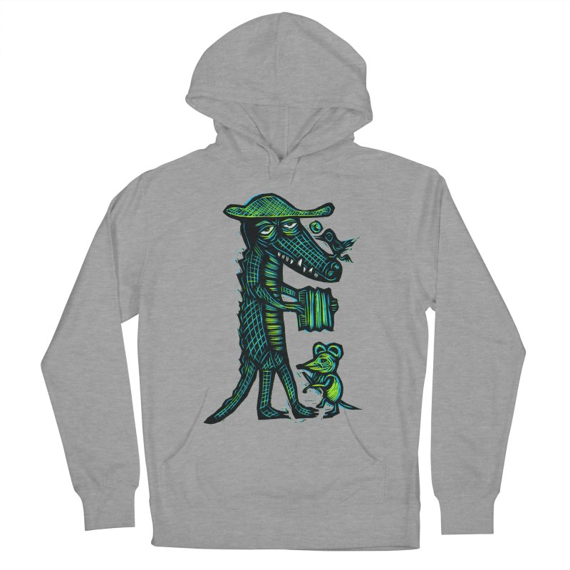 Cajun Gator Men's Pullover Hoody by Sean StarWars' Artist Shop