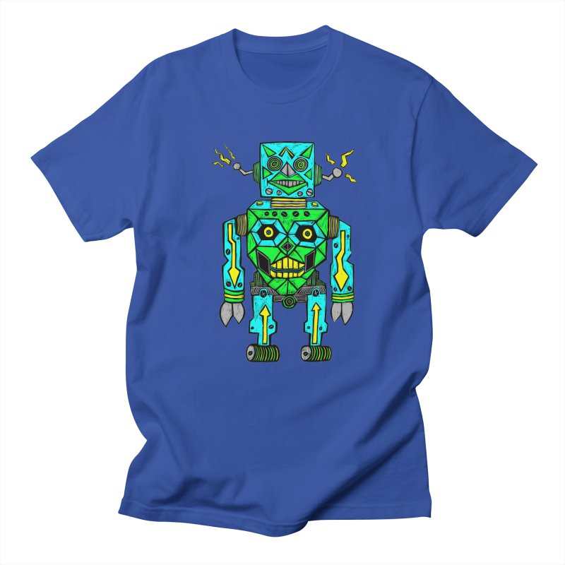 Robot Men's T-Shirt by Sean StarWars' Artist Shop