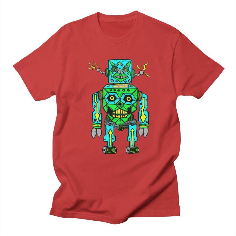 Robot Men's T-Shirt by Sean StarWars' Artist Shop