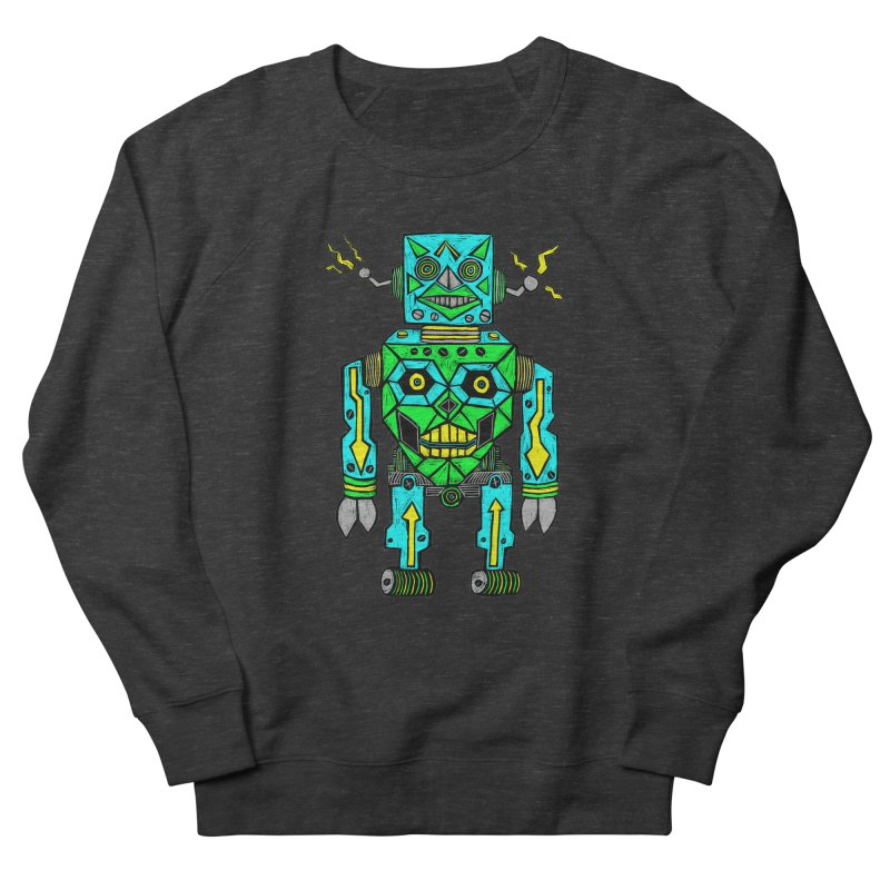 Robot Men's Sweatshirt by Sean StarWars' Artist Shop