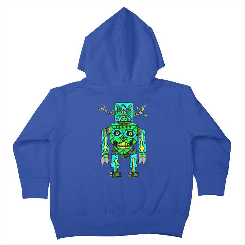 Robot Kids Toddler Zip-Up Hoody by Sean StarWars' Artist Shop