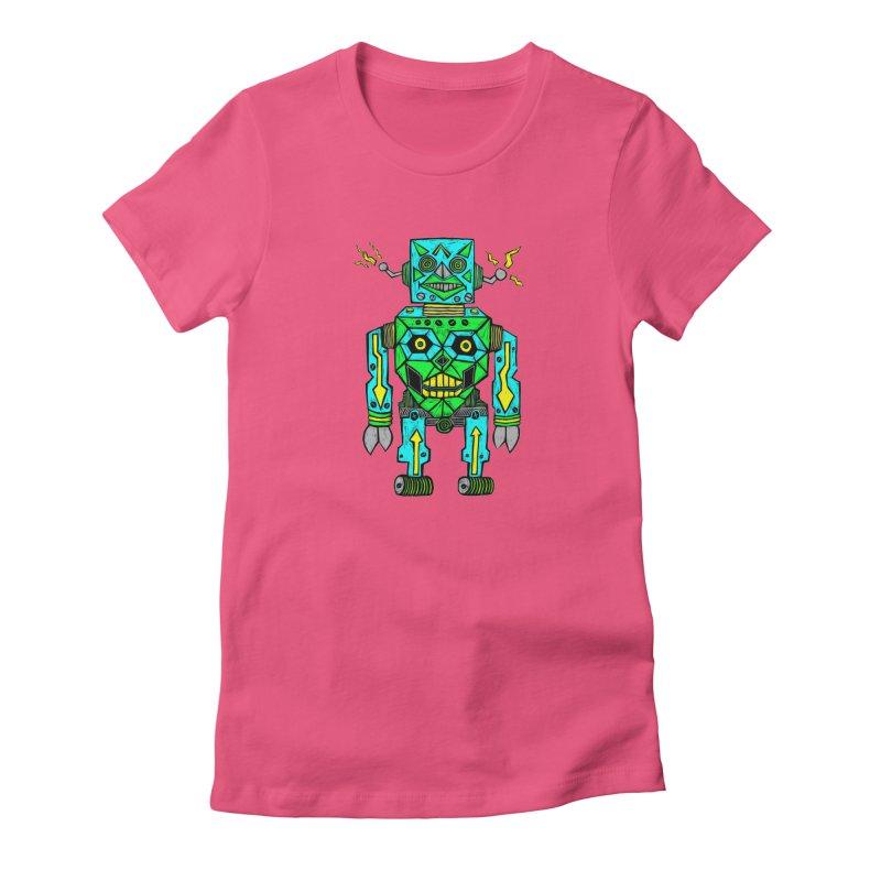 Robot Women's T-Shirt by Sean StarWars' Artist Shop