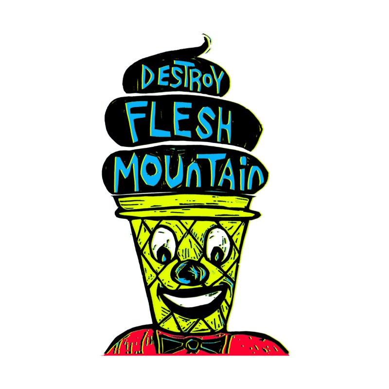 Destroy Flesh Mountain Kids Pullover Hoody by Sean StarWars' Artist Shop