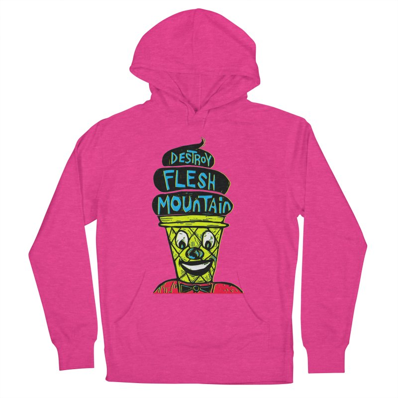 Destroy Flesh Mountain Women's Pullover Hoody by Sean StarWars' Artist Shop