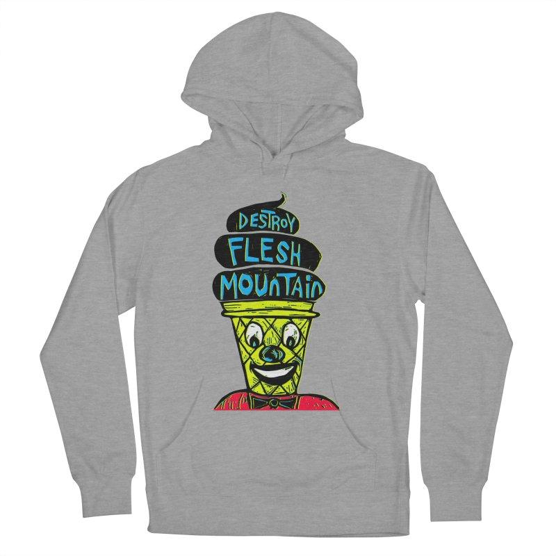 Destroy Flesh Mountain Men's Pullover Hoody by Sean StarWars' Artist Shop