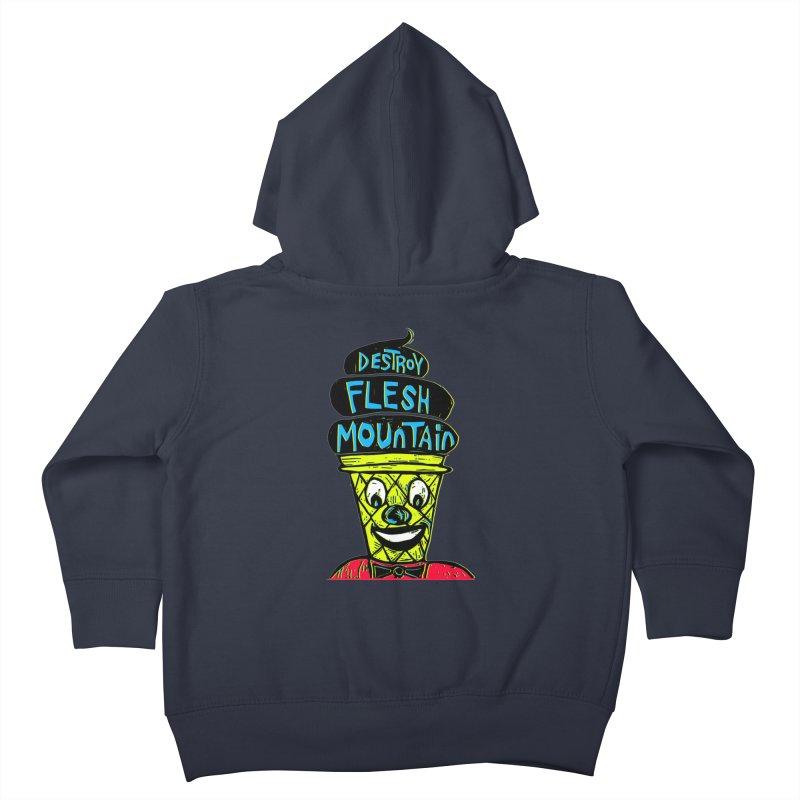 Destroy Flesh Mountain Kids Toddler Zip-Up Hoody by Sean StarWars' Artist Shop