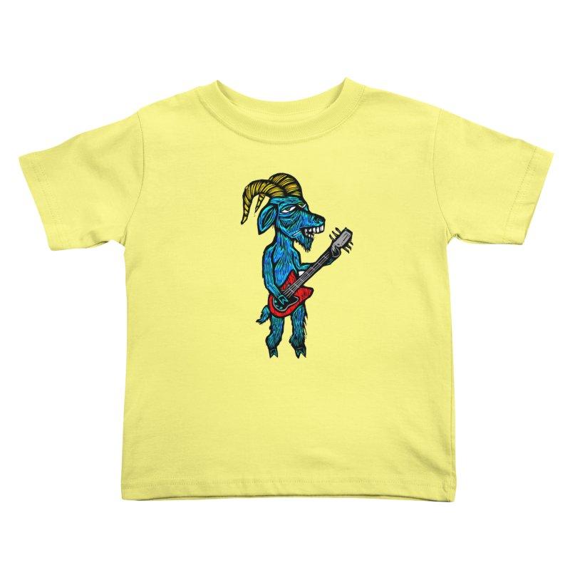 Goatar Hero Kids Toddler T-Shirt by Sean StarWars' Artist Shop