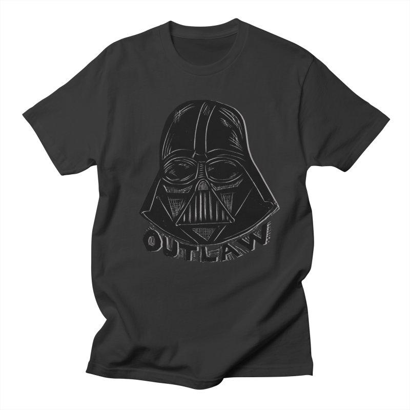 Vader Men's Regular T-Shirt by Sean StarWars' Artist Shop