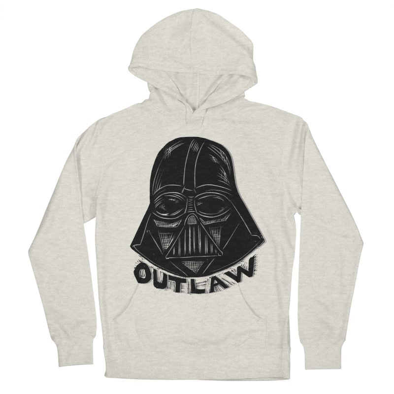 Vader Men's French Terry Pullover Hoody by Sean StarWars' Artist Shop