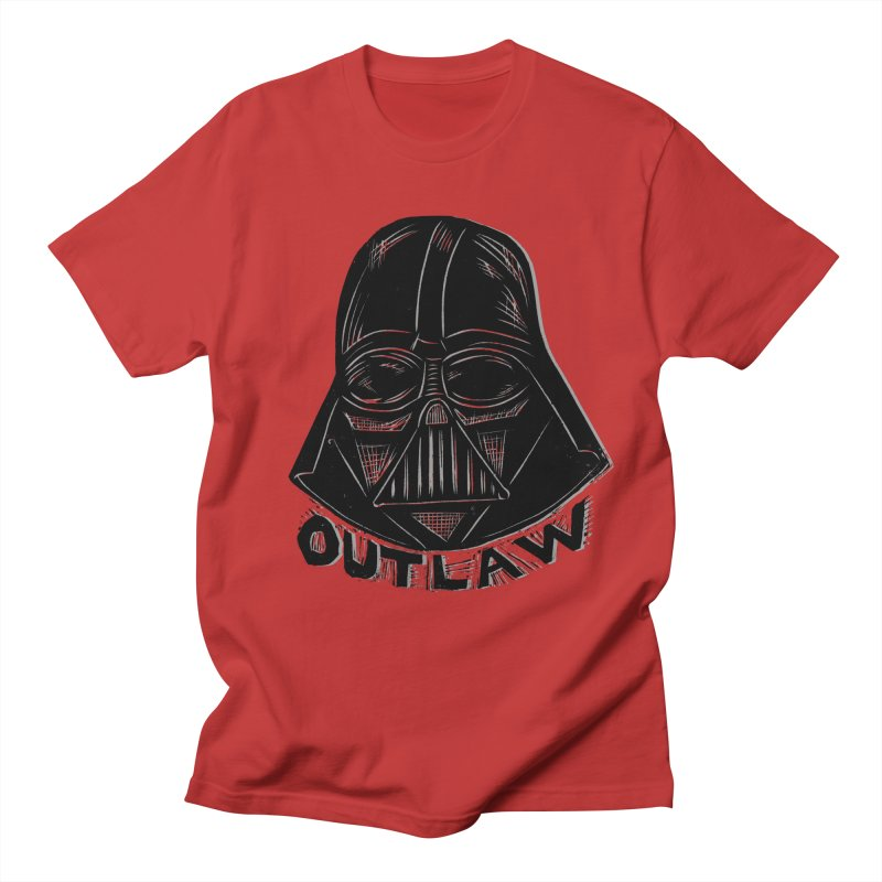 Vader Men's Regular T-Shirt by Sean StarWars' Artist Shop