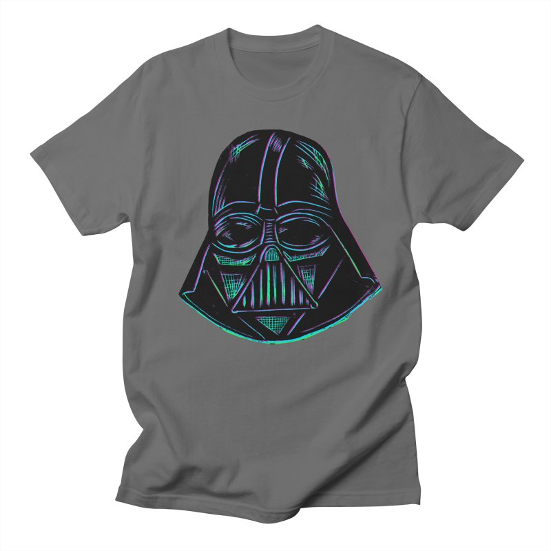 Vader in Men's T-shirt Asphalt by Sean StarWars' Artist Shop