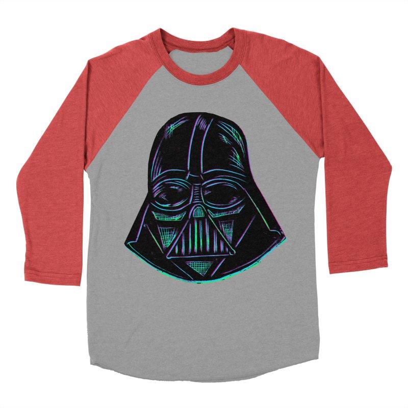 Vader Women's Baseball Triblend T-Shirt by Sean StarWars' Artist Shop