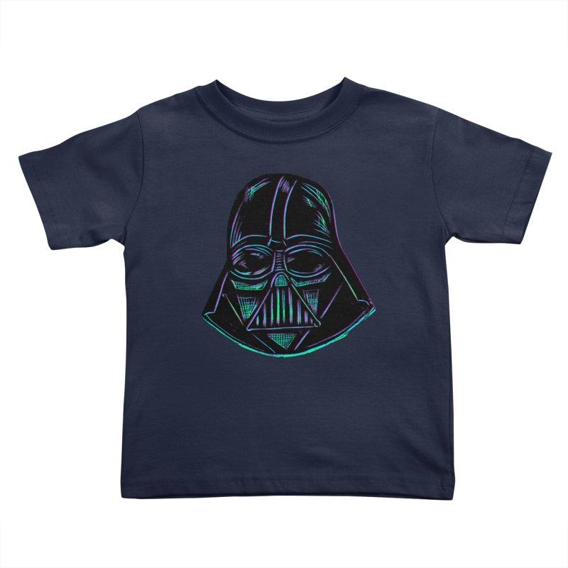 Vader Kids Toddler T-Shirt by Sean StarWars' Artist Shop